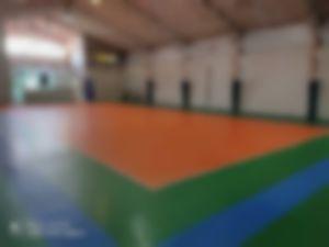 سالن والیبال آبی هشتم دو مشهد